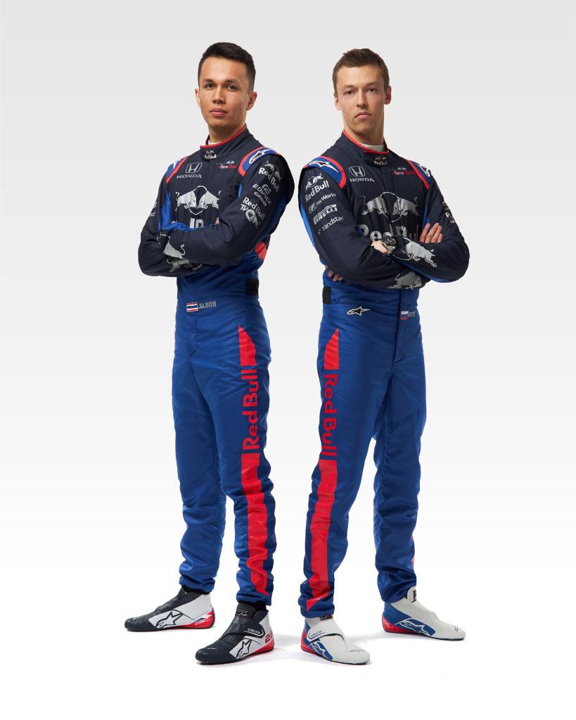 トロロッソ・ホンダ 2019年 F1 レーシングスーツ