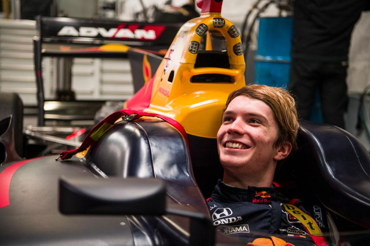 F1 ダニエル・ティクトゥム レッドブル・レーシング