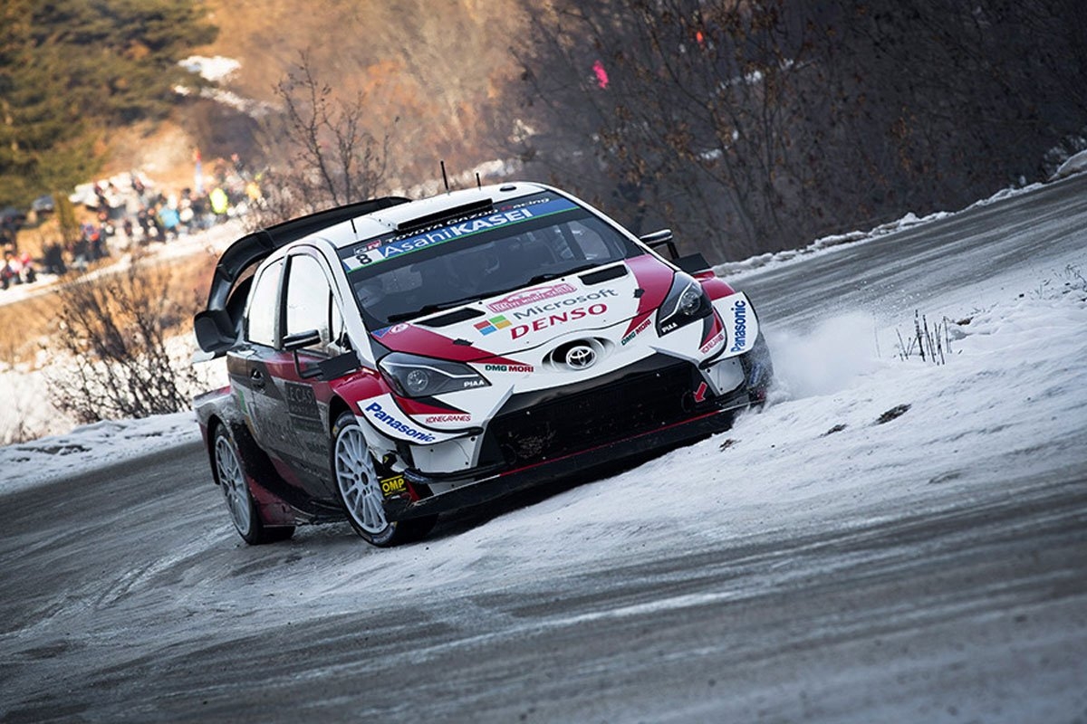 トヨタ WRC ラリー・スウェーデン