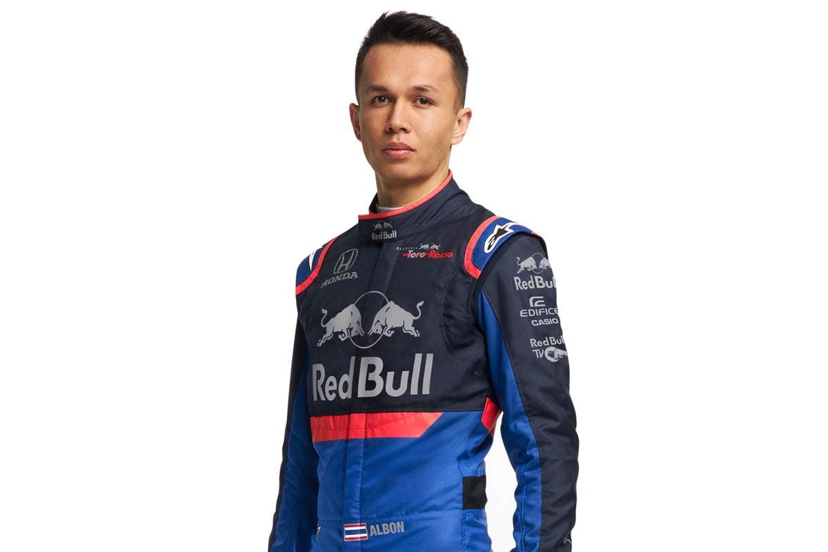 F1 アレクサンダーアルボン トロロッソ・ホンダ