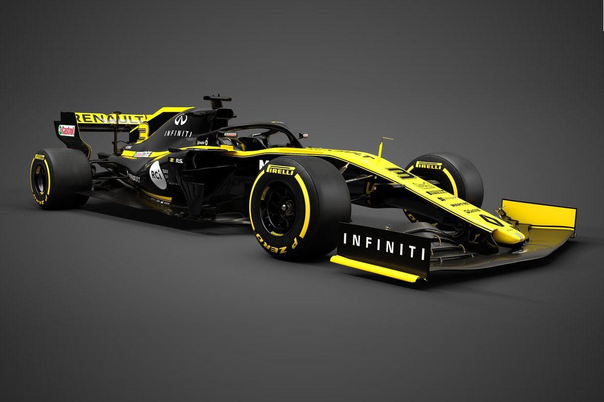 F1 ルノーF1 R.S.19