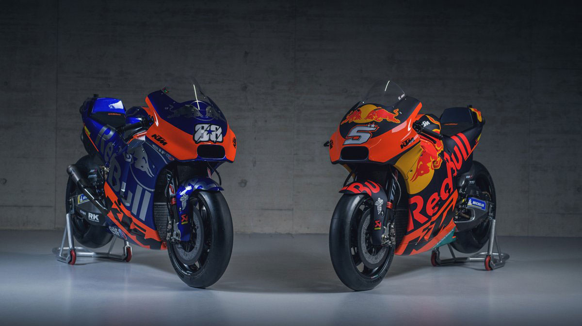 2019 type machine from KTM and Tech 3