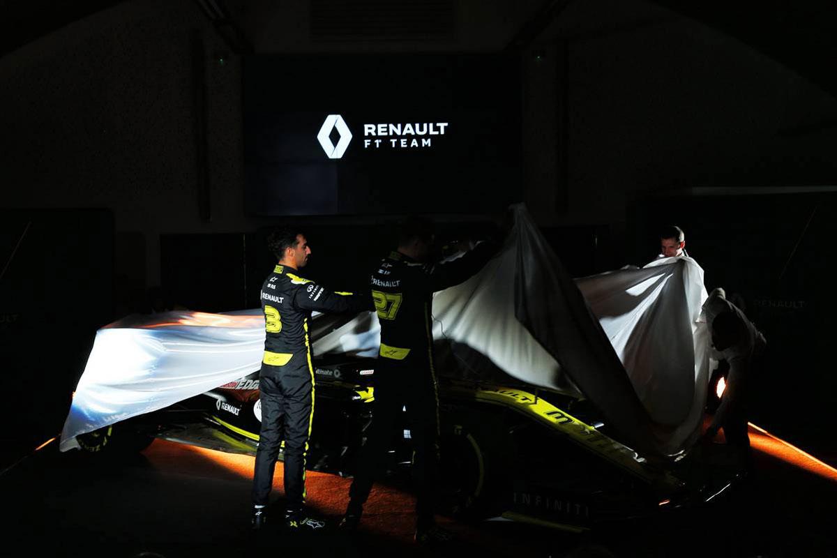 F1 ルノーF1チーム R.S.19