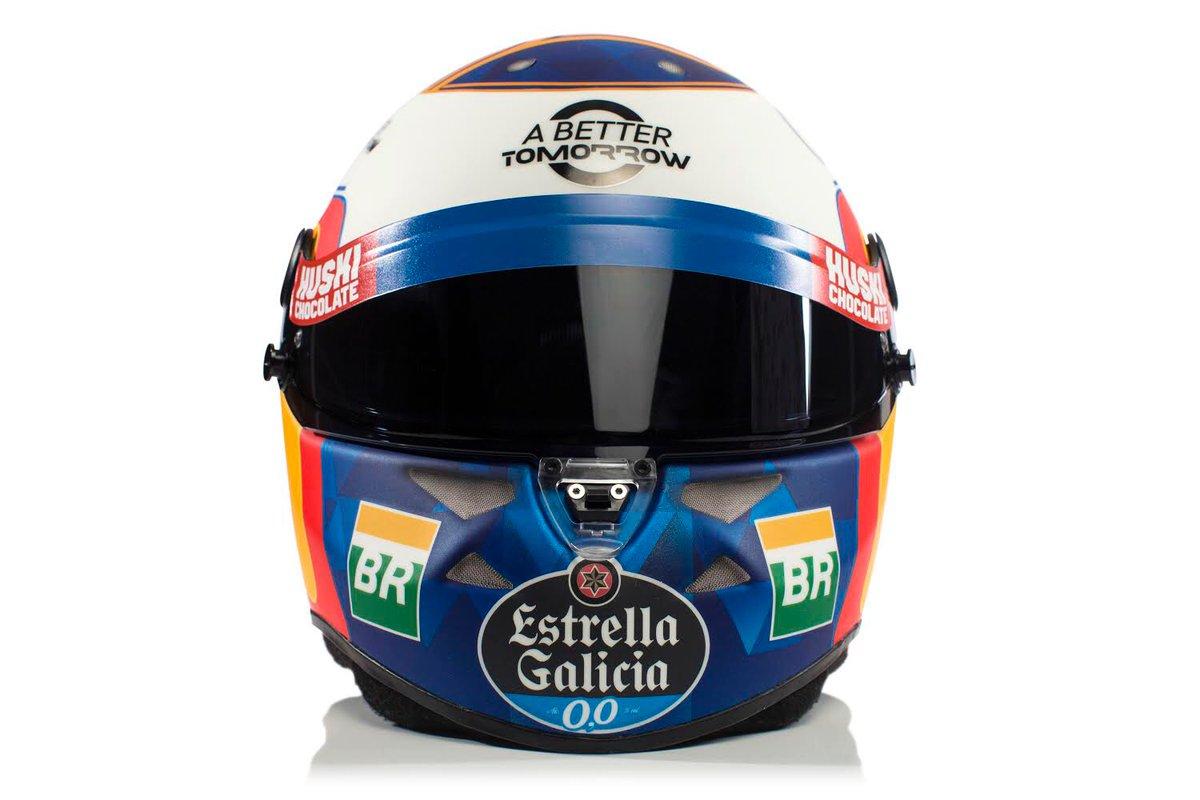 カルロス・サインツJr. 2019年 F1ヘルメット
