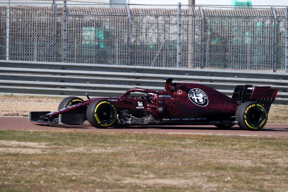 アルファロメオ・レーシング 2019年F1マシン ③