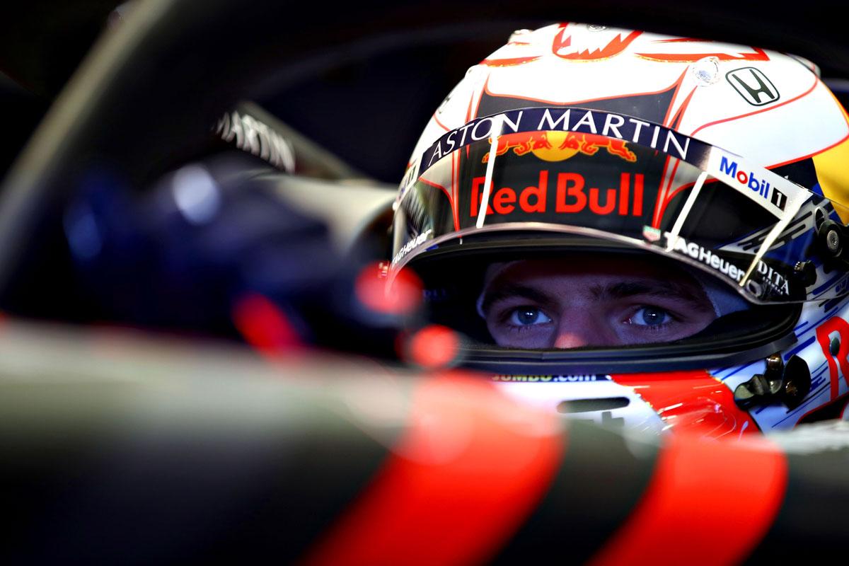 F1 マックス・フェルスタッペン ホンダF1