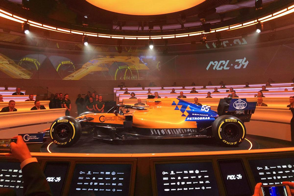 F1 マクラーレン MCL34