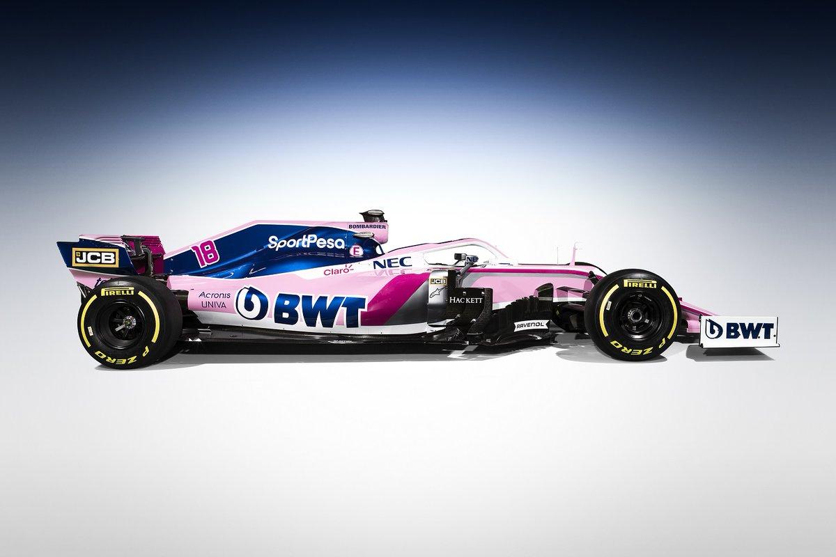 レーシングポイント 2019年F1マシン カラーリング③
