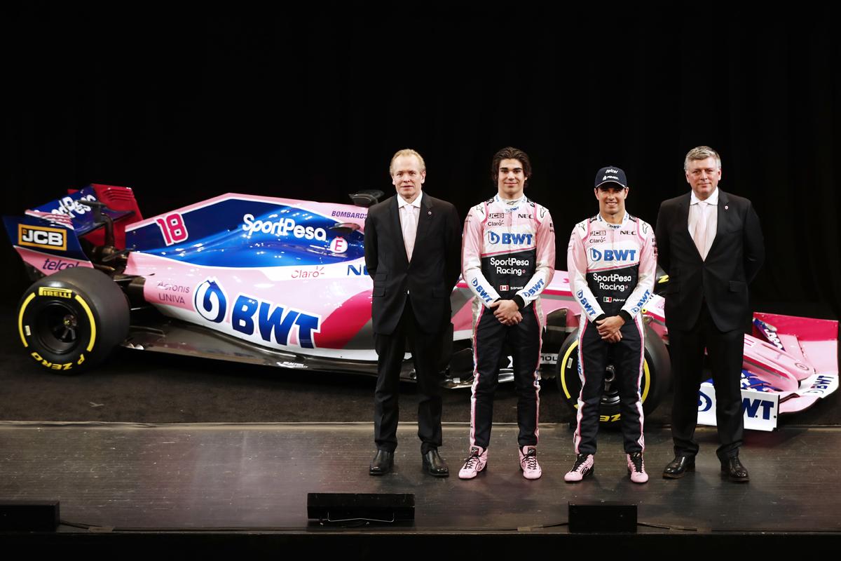 レーシングポイント 2019年F1マシン カラーリング