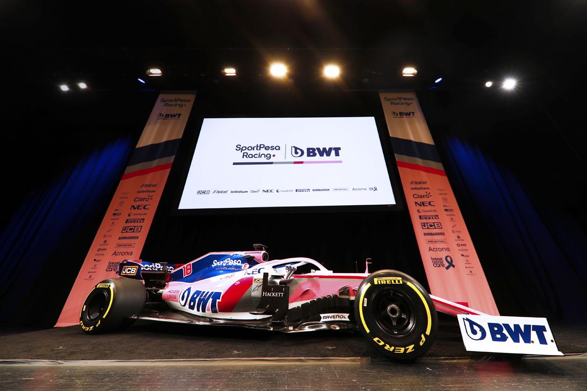 レーシングポイント 2019年F1マシン カラーリング(2)