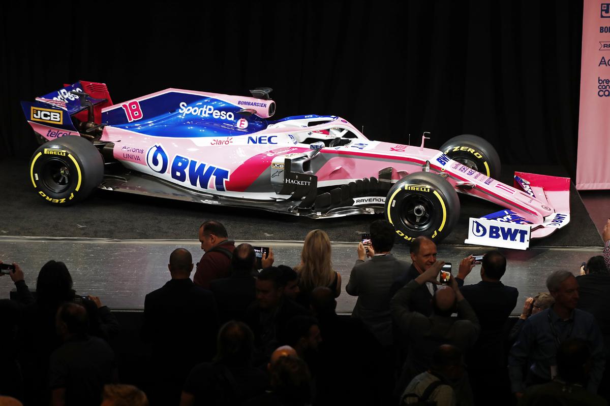 レーシングポイント 2019年F1マシン カラーリング(3)