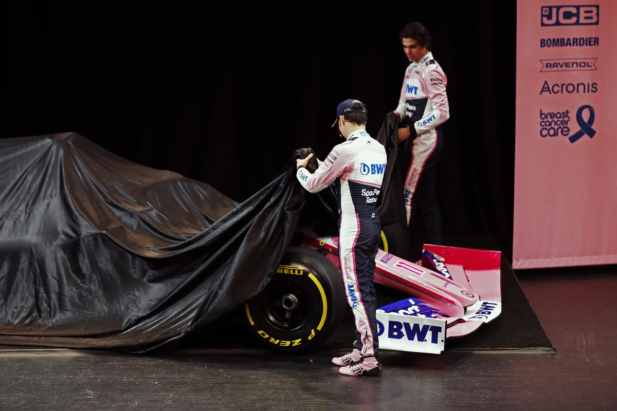 レーシングポイント 2019年F1マシン カラーリング(4)