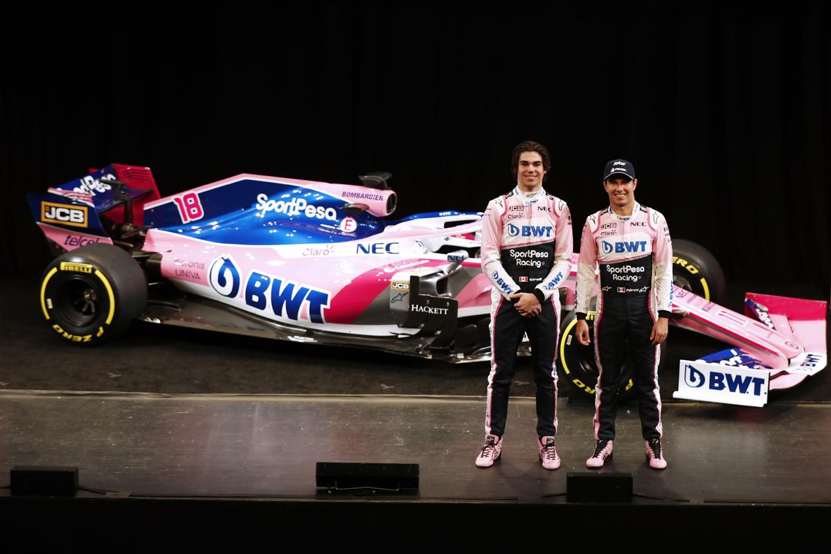 レーシングポイント 2019年F1マシン カラーリング(5)