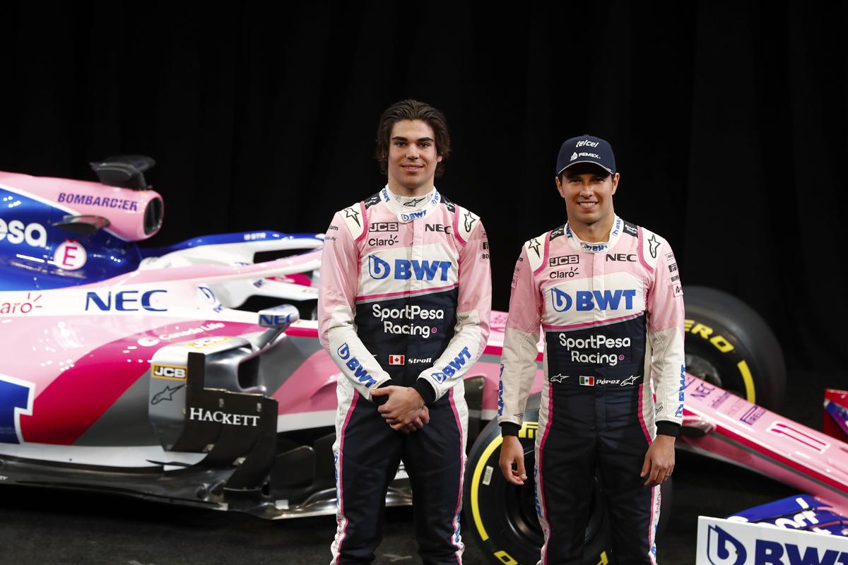 レーシングポイント 2019年F1マシン カラーリング(7)