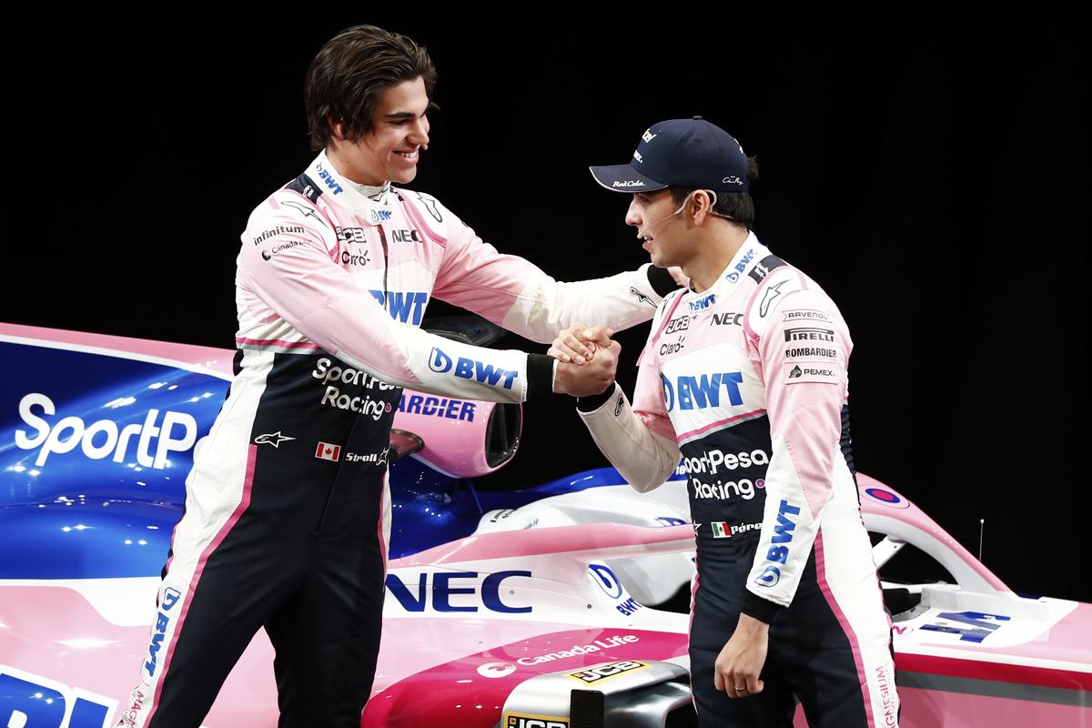レーシングポイント 2019年F1マシン カラーリング(11)