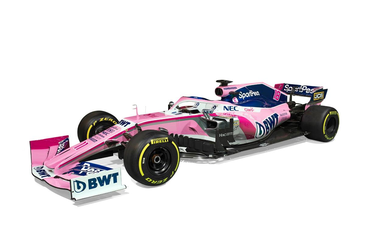 レーシングポイント 2019年F1マシン カラーリング(17)