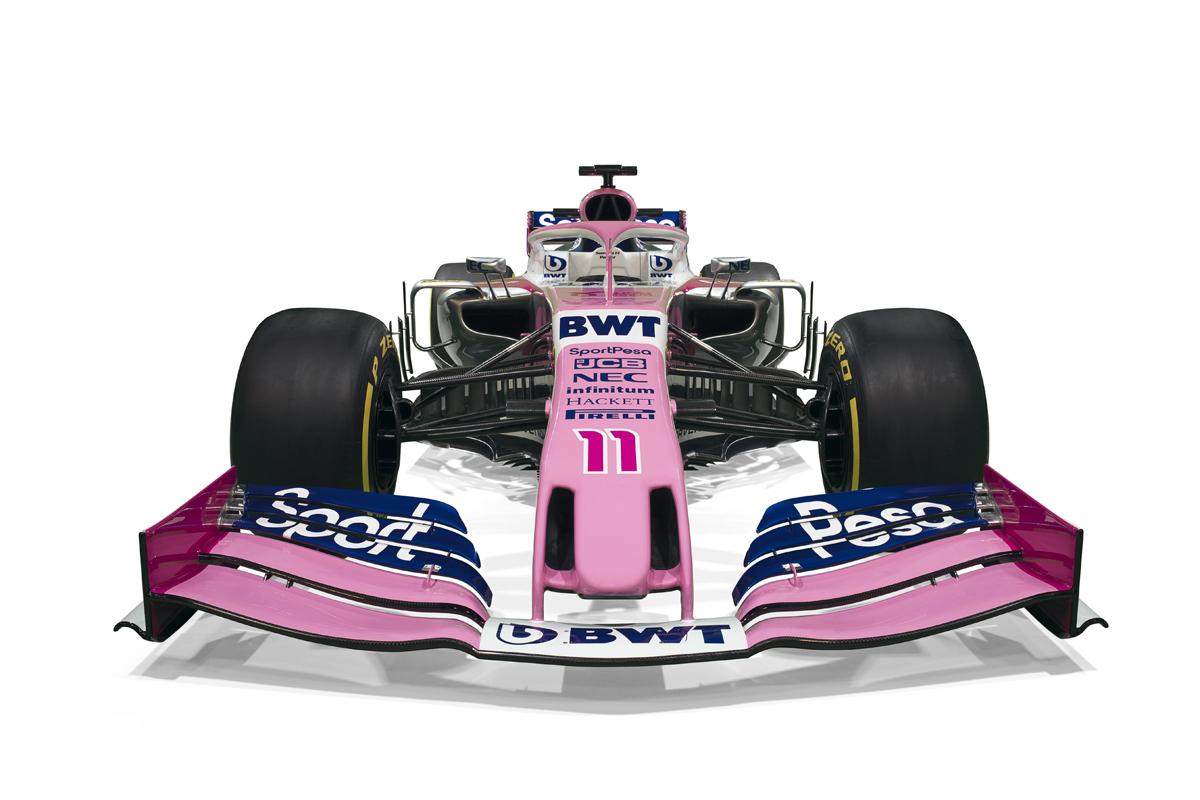 レーシングポイント 2019年F1マシン カラーリング (18)
