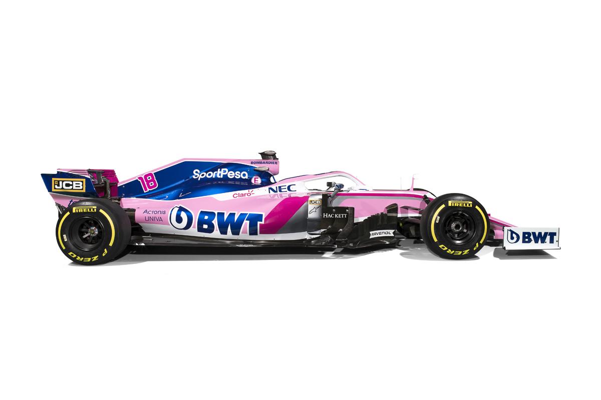 レーシングポイント 2019年F1マシン カラーリング (19)