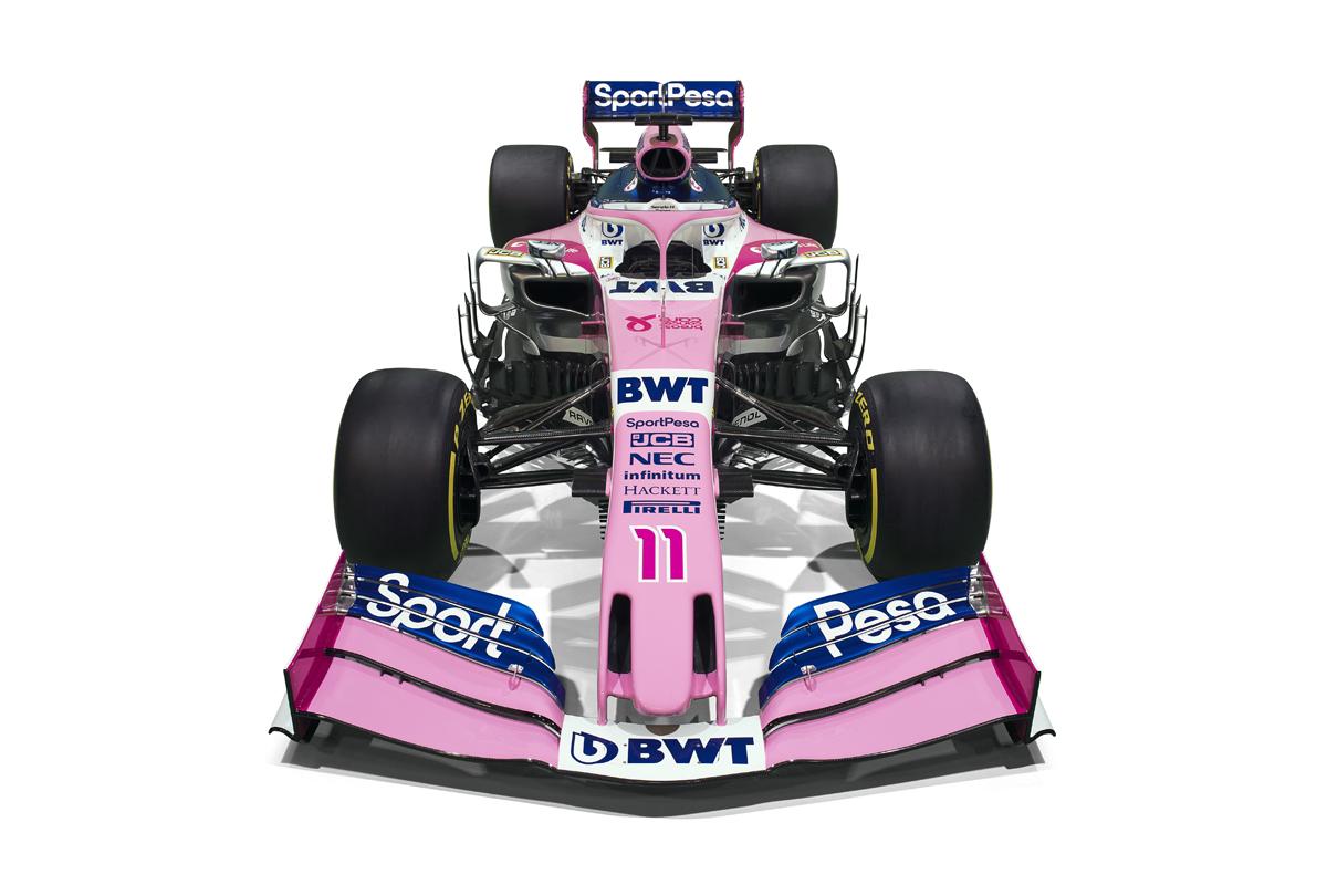 レーシングポイント 2019年F1マシン カラーリング (20)