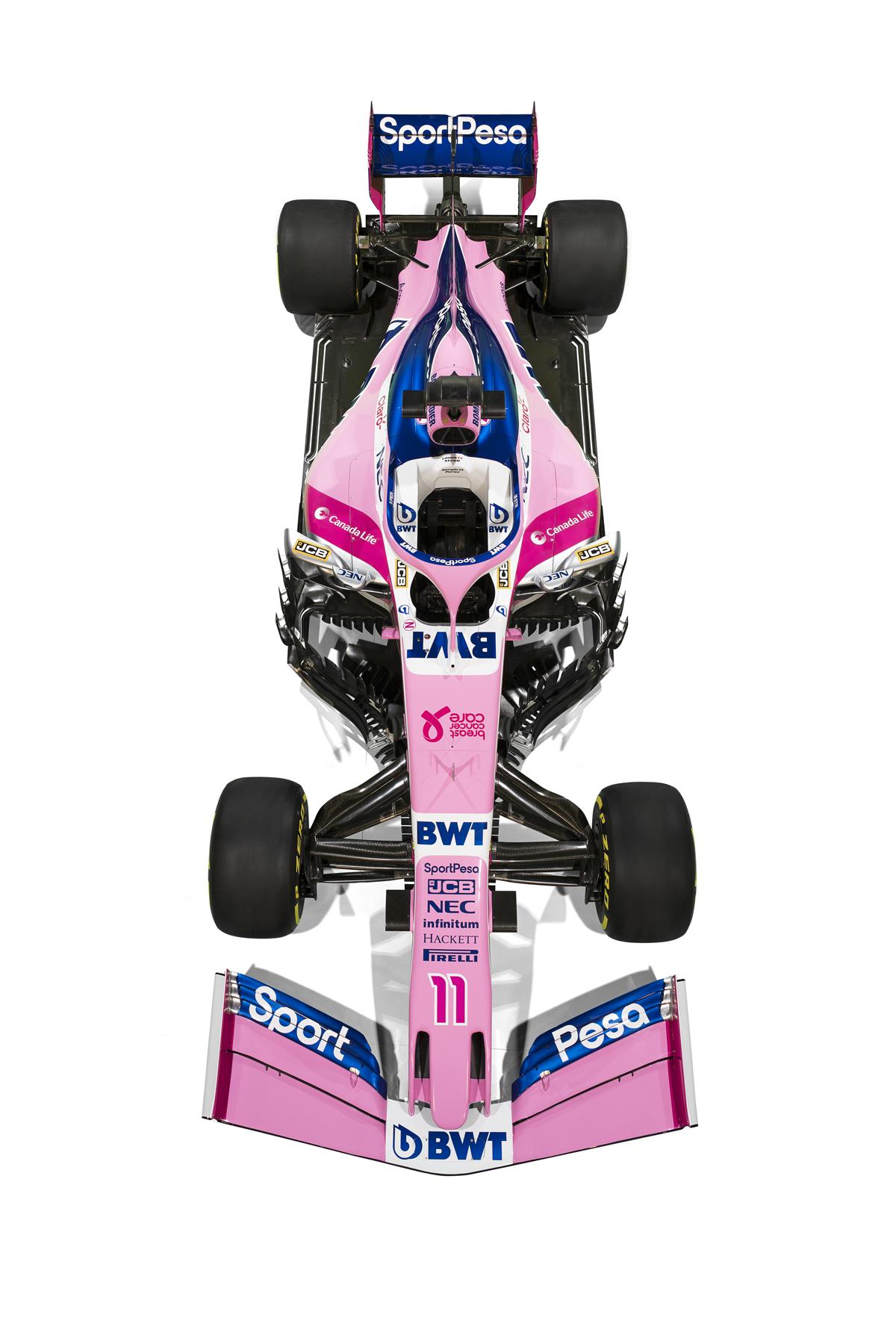 レーシングポイント 2019年F1マシン カラーリング (21)