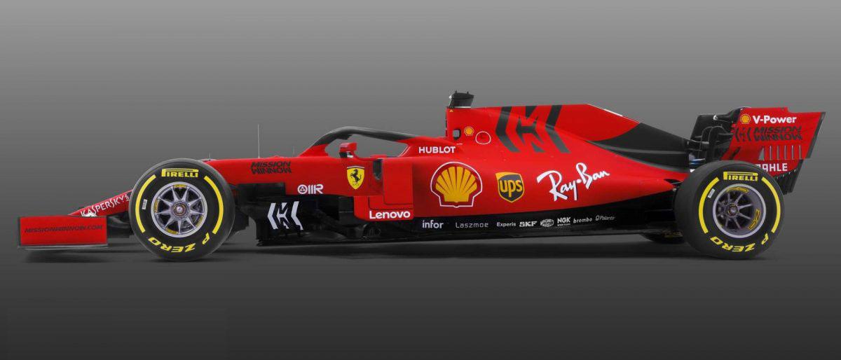 Scuderia Ferrari Mission Winnow SF90