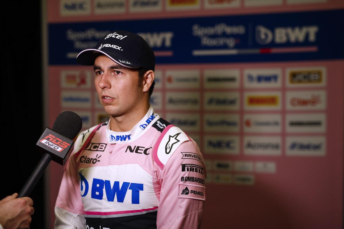 F1 セルジオ・ペレス レーシングポイント