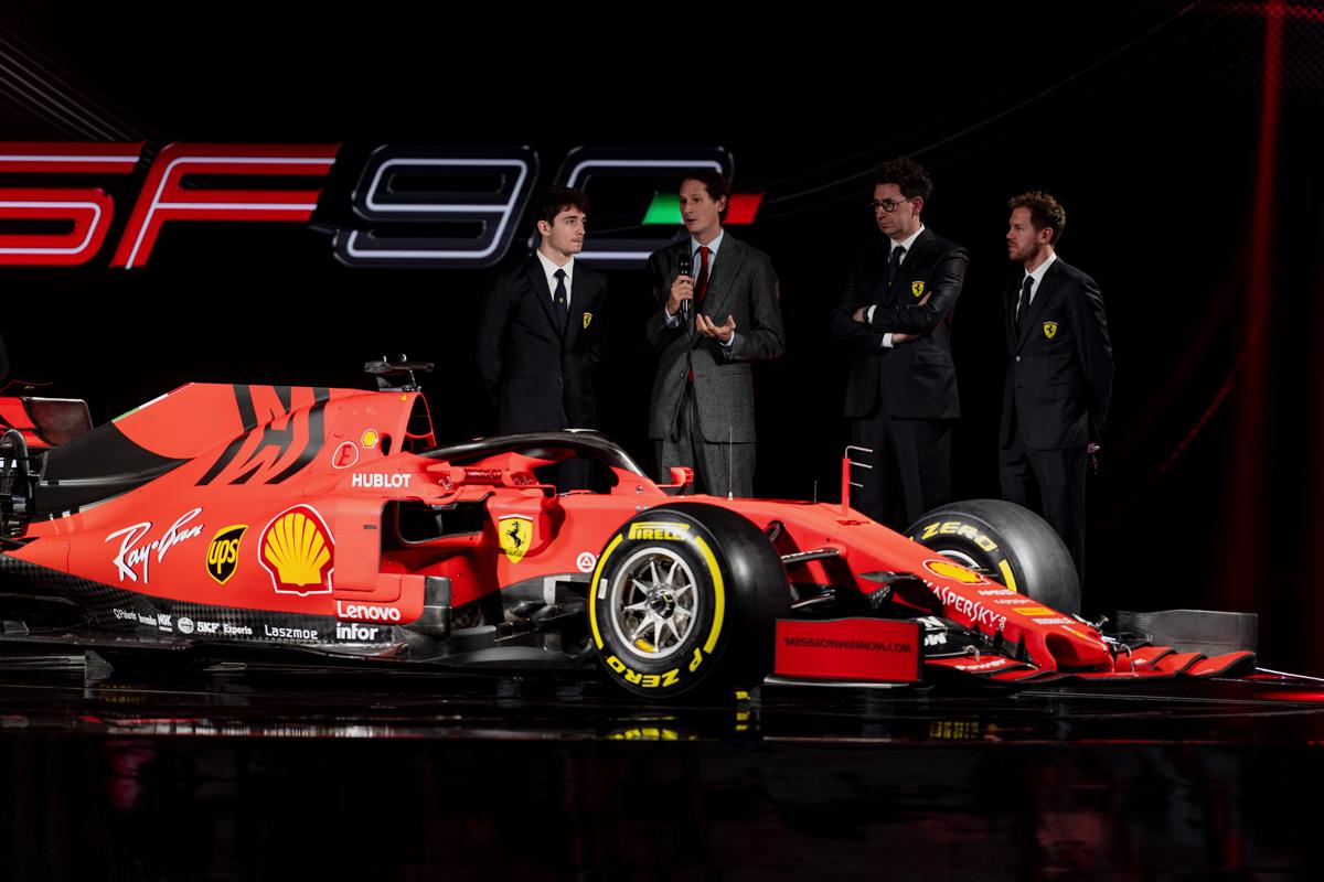 フェラーリ SF90 ⑫