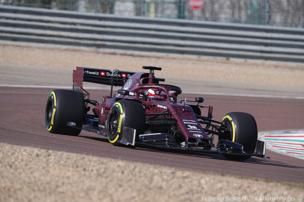 アルファロメオ・レーシング 2019年F1マシン ②