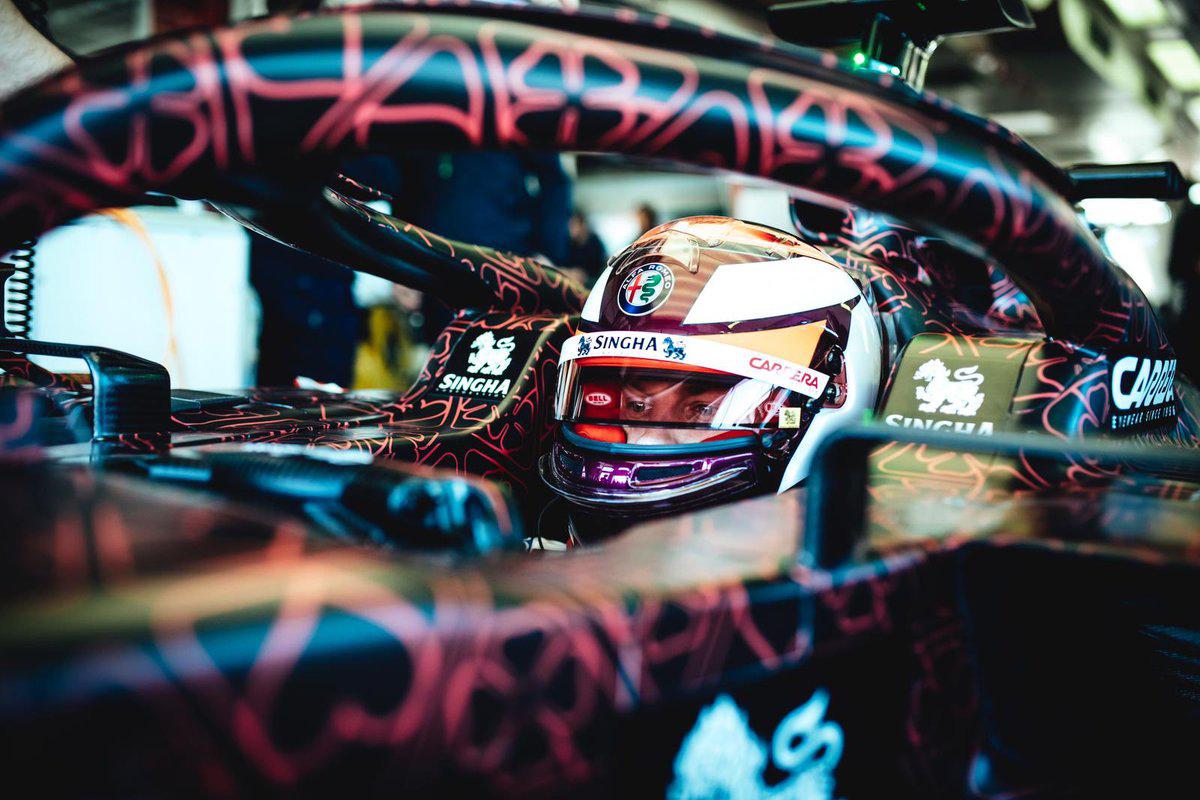 アルファロメオ・レーシング 2019年F1マシン ⑩