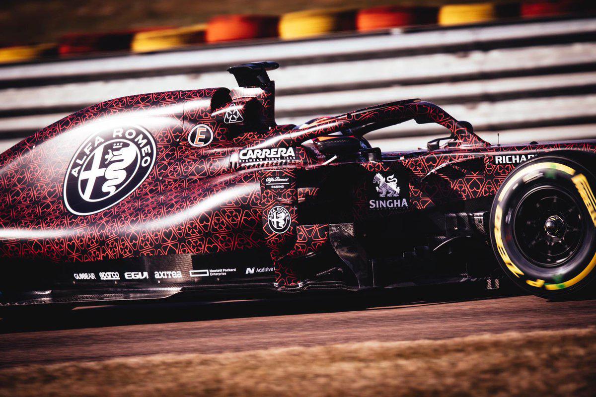 アルファロメオ・レーシング 2019年F1マシン ⑬