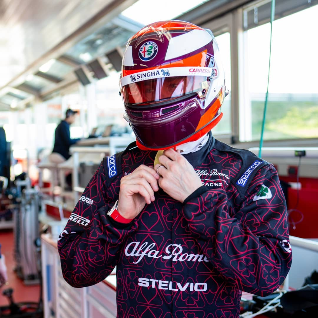 アルファロメオ・レーシング 2019年F1マシン ⑭