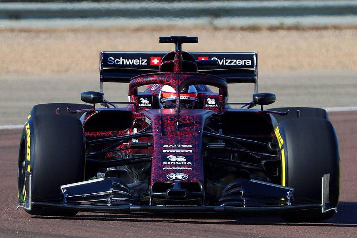アルファロメオ・レーシング 2019年F1マシン フロントウイング