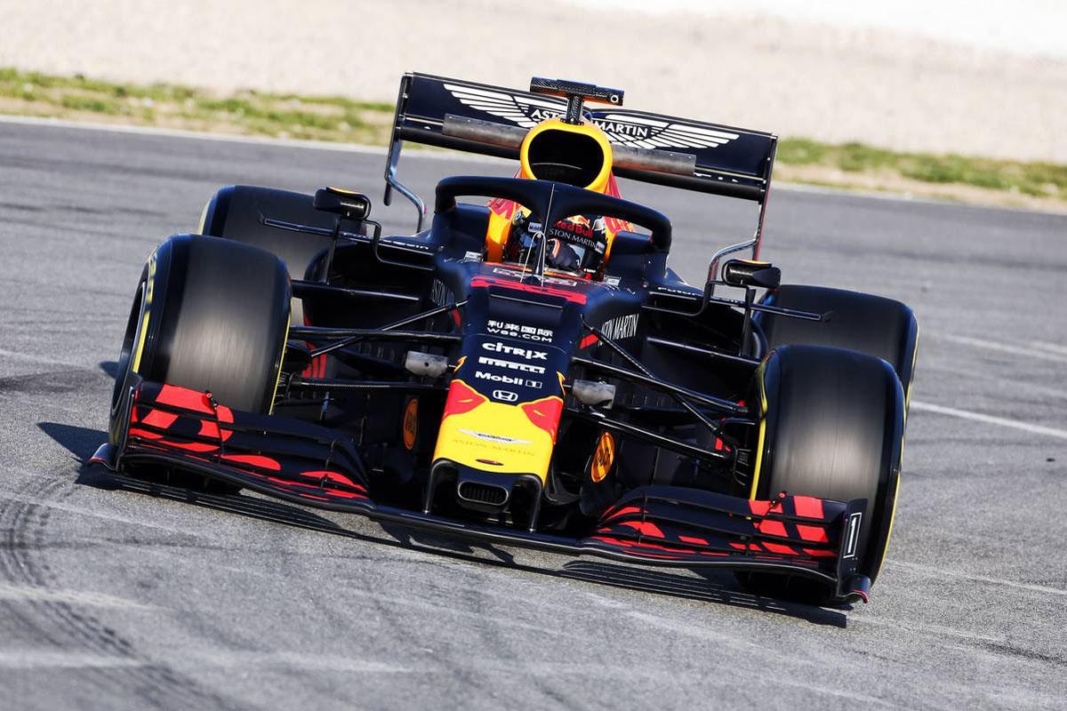 F1 バルセロナテスト 2019年