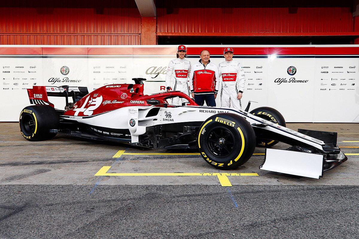 F1 アルファロメオ・レーシング C38