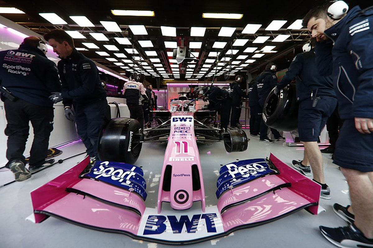 F1 レーシングポイント RP19