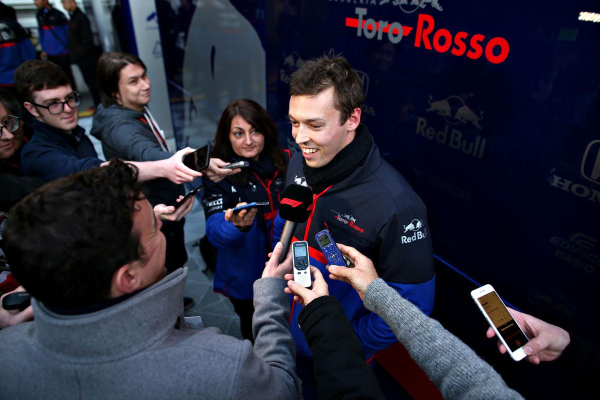 Daniil Kvyat Toro Rosso Honda STR14