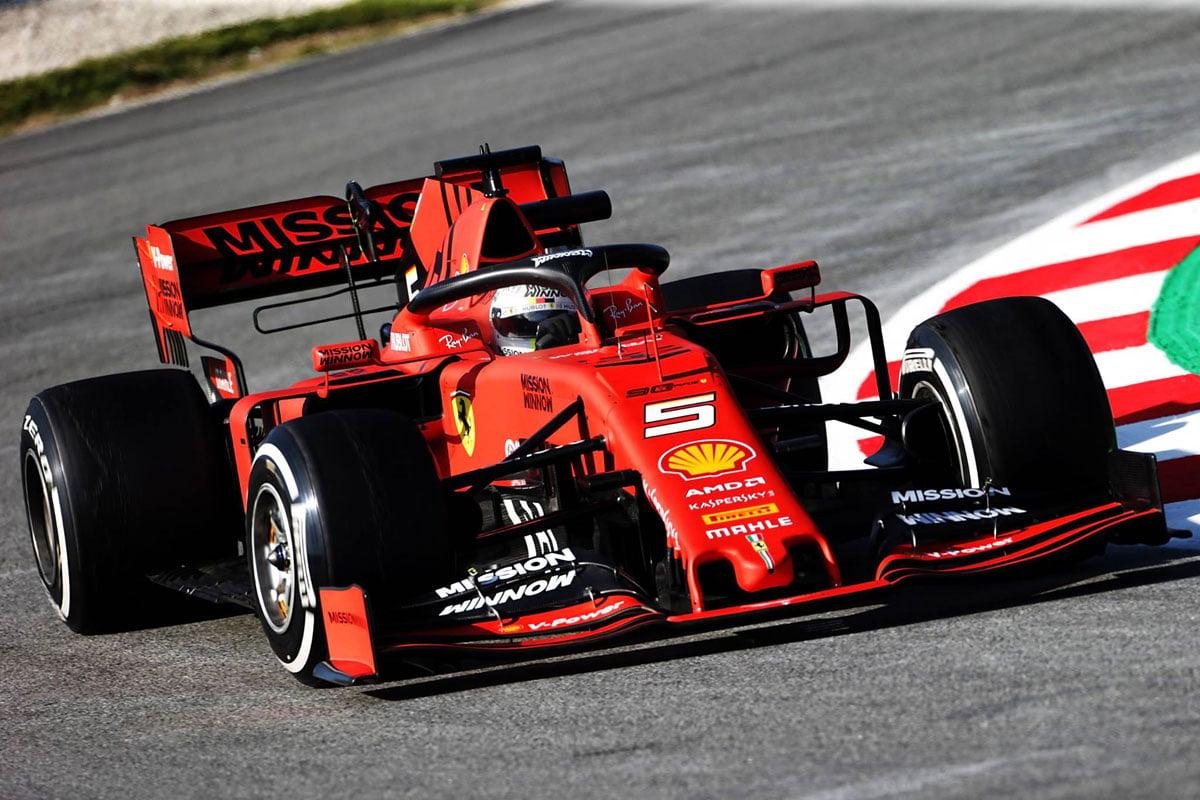 F1 バルセロナテスト 1日目 結果