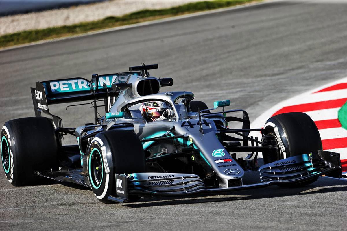F1 ルイス・ハミルトン メルセデスW10