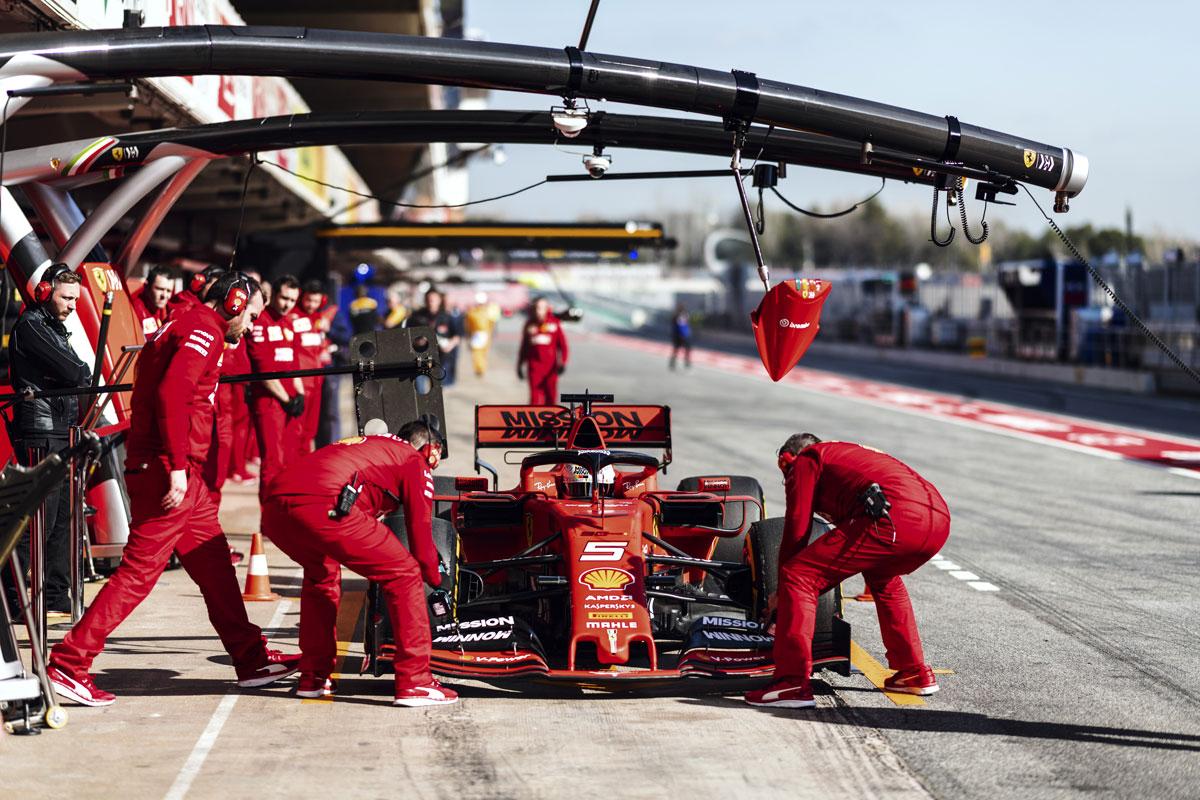 F1バルセロナテスト 初日