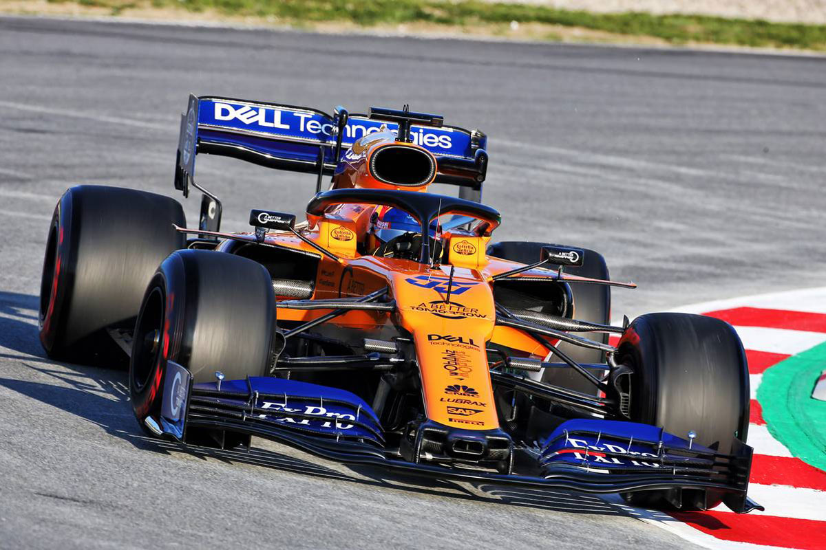 F1 マクラーレン カルロス・サインツ