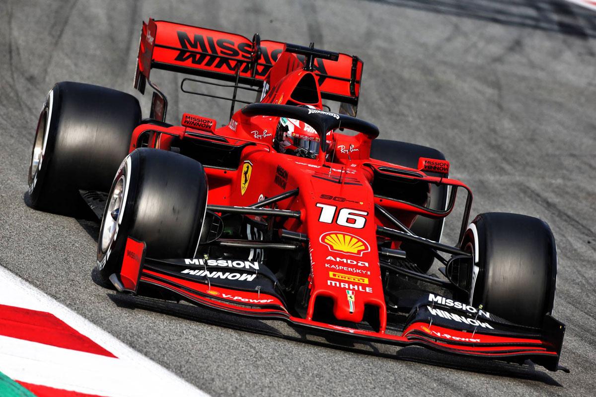 F1 バルセロナテスト 2日目 結果