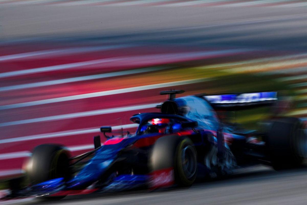F1 バルセロナテスト