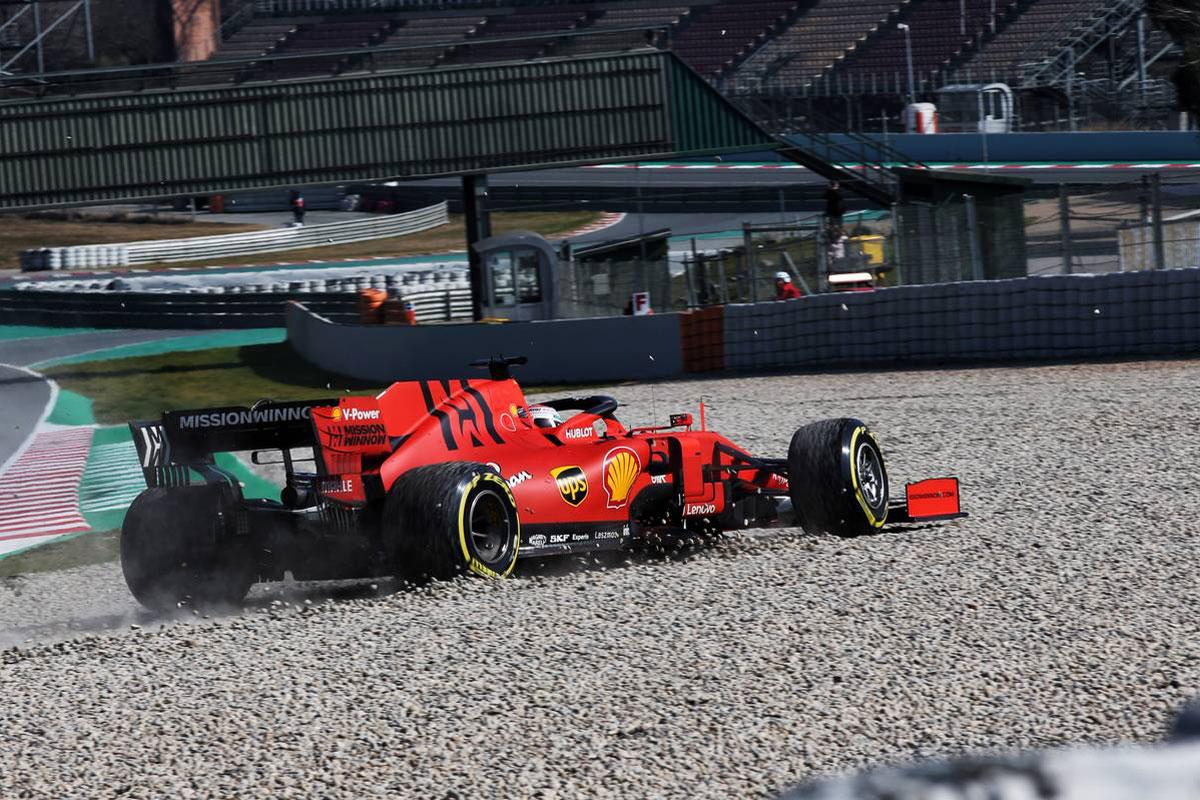 F1 バルセロナテスト 動画