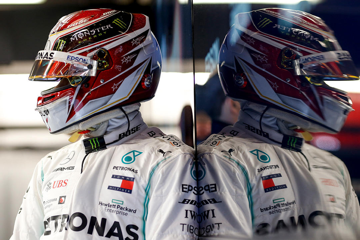F1 ルイス・ハミルトン メルセデスAMG F1