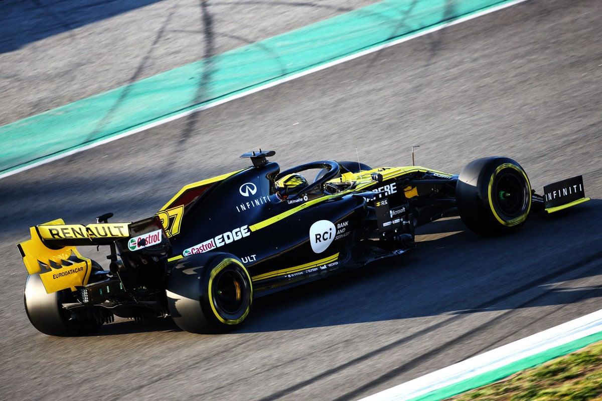 F1 ニコ・ヒュルケンベルグ