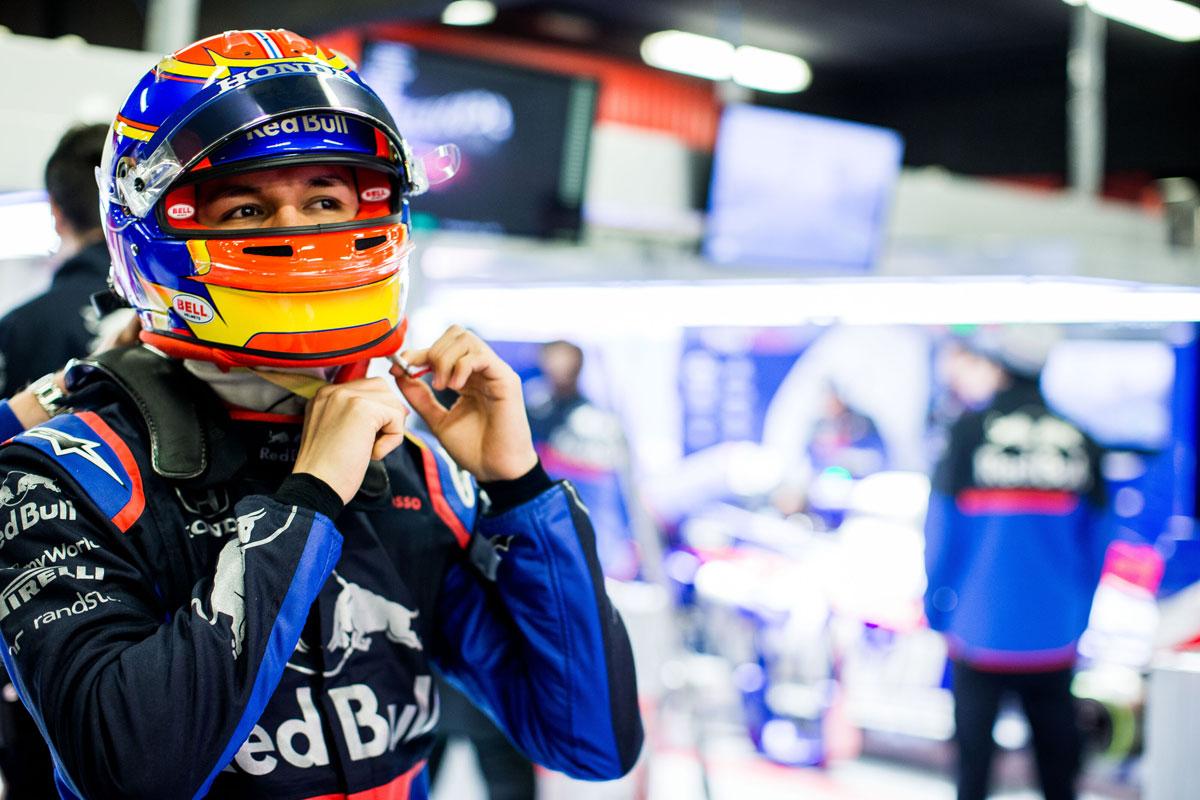 F1 トロロッソ・ホンダ アレクサンダー・アルボン