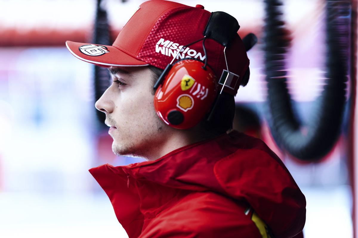 F1 セバスチャン・ベッテル シャルル・ルクレール