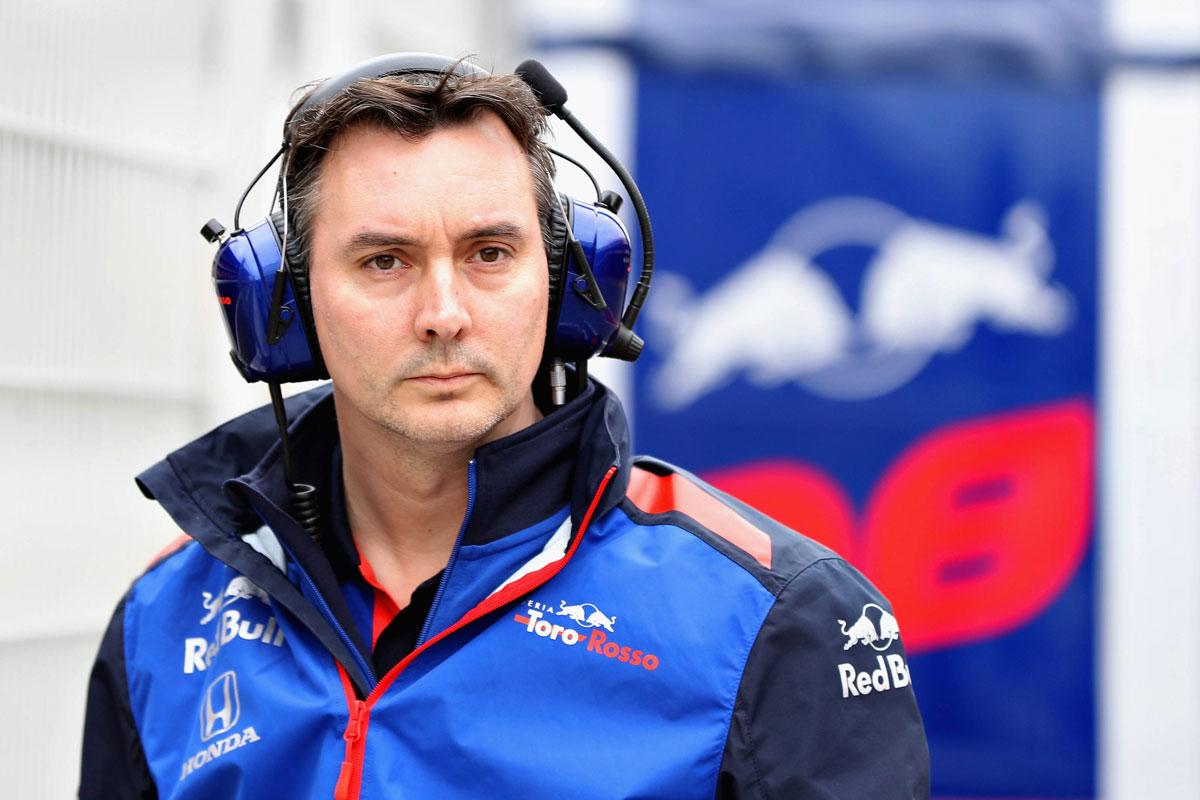 F1 スクーデリア・トロ・ロッソ ジェームス・キー