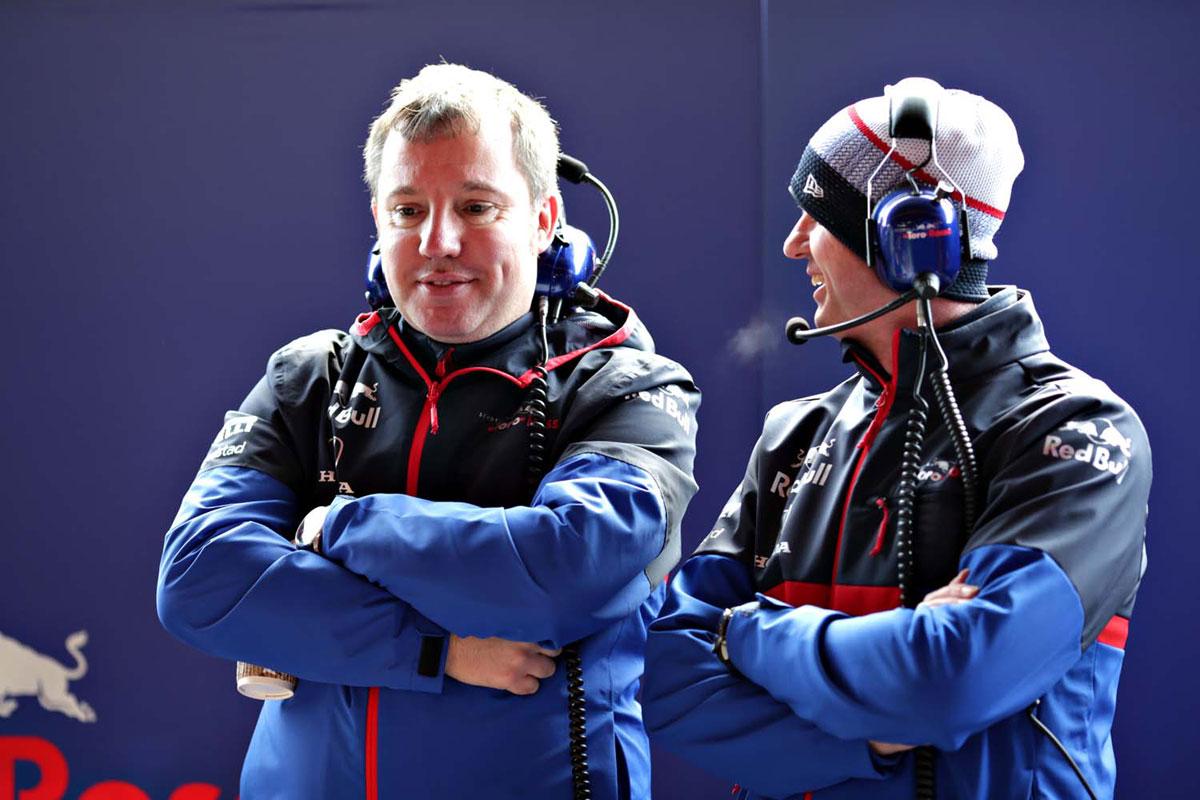 F1 トロロッソ ジョディ・エジントン