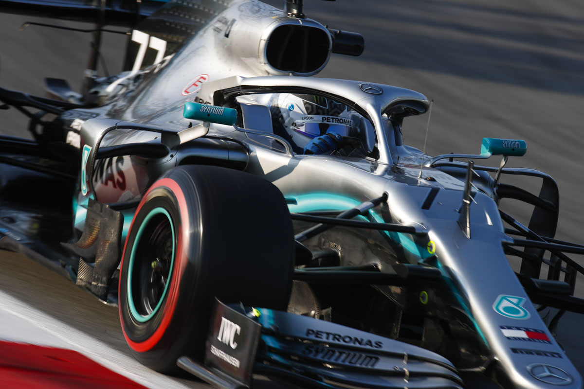 F1 メルセデスAMG F1 バルテリ・ボッタス